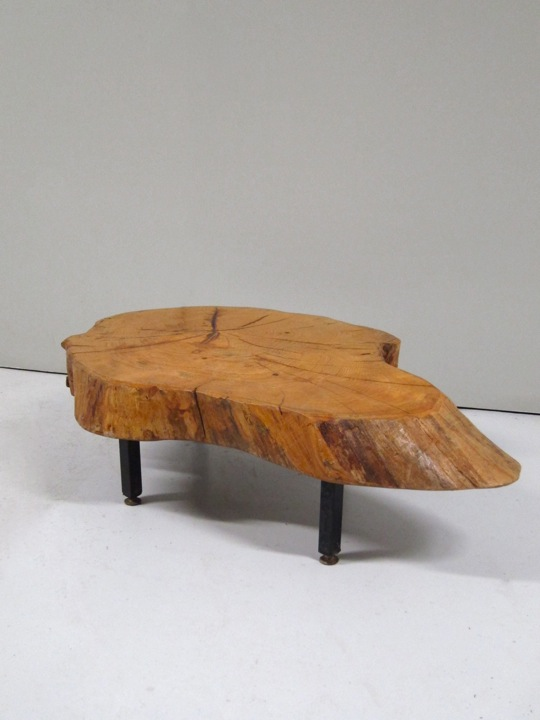 Table en tronc d arbre for Table plateau tronc d arbre