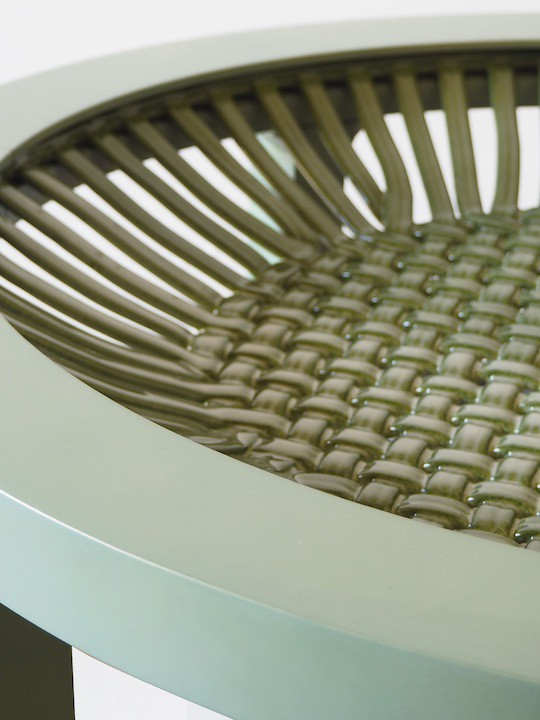 Close_up_Bigoli_table_detail_green