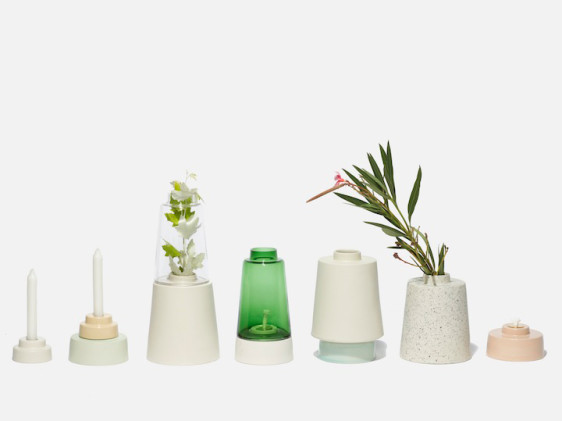 Pussel oil lamp designenvue mobilier objets design - Lampe a huile design ...