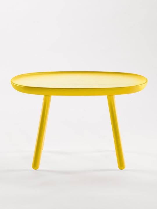 Na ve side table designenvue mobilier objets design for Table design jaune