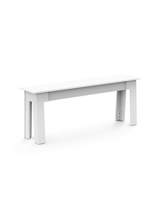 Loll Designs_freshair_bench48_white